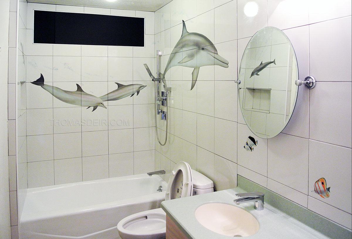 Bath and Shower Tile Murals Tropical Fish – Thomas Deir Honolulu HI ...