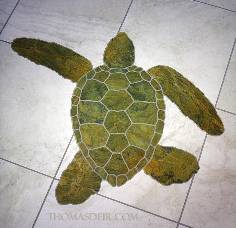 Product Marble Tiles Inlay : Floor mosaics or wall art thomas deir honolulu hi artist