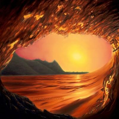 Kauai Wave Painting