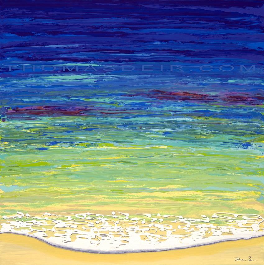 abstract beach paintings AO 22