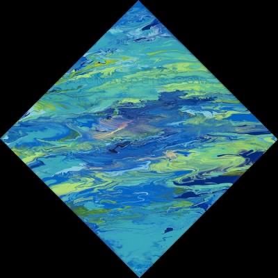 abstract ocean art AM 51