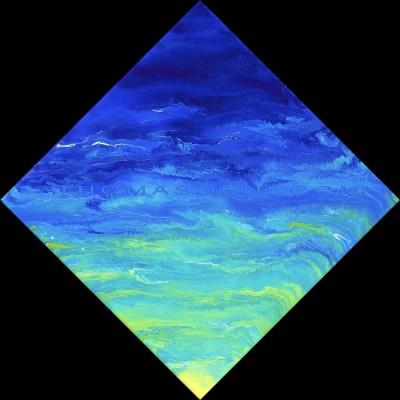 abstract ocean art AO 53
